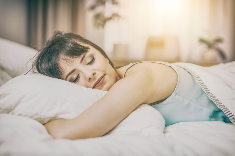 women and sleep
