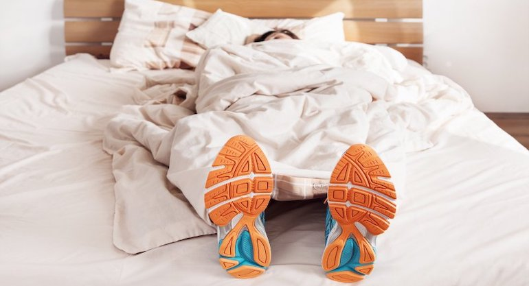 sleep and workout recovery